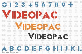 Videopac Font