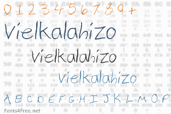 Vielkalahizo Font