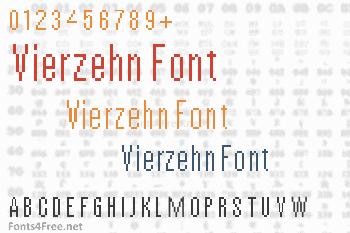 Vierzehn Font