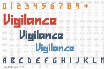 Vigilance Font