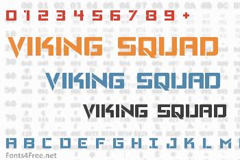 Viking Squad Font