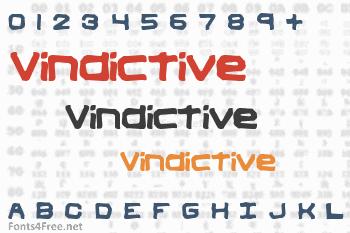 Vindictive Font