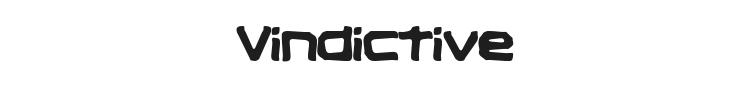 Vindictive Font Preview