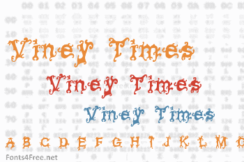 Viney Times Font