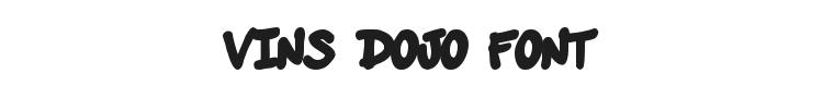 Vins Dojo Font