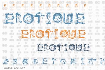 Vintage Erotique Font