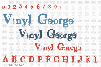 Vinyl George Font