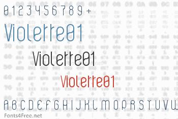 Violette01 Font