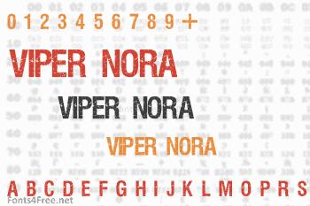 Viper Nora Font
