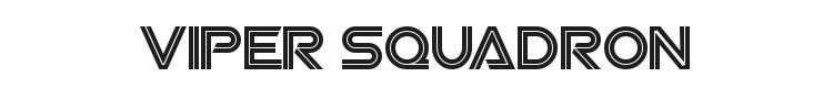 Viper Squadron Font Preview
