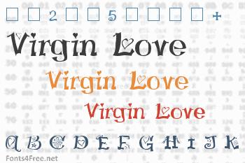 Virgin Love Font