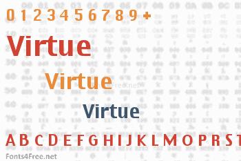 Virtue Font