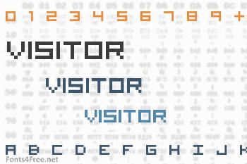 Visitor Font