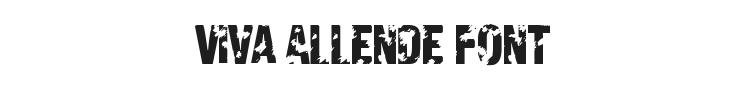 Viva Allende Font