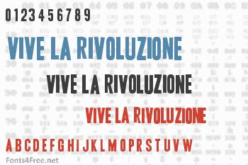 Vive la Rivoluzione Font