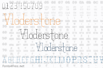 Vloderstone Font