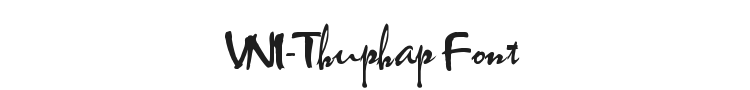 VNI-Thuphap Font Preview