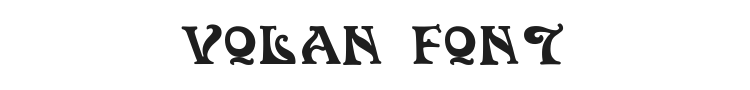 Volan Font Preview