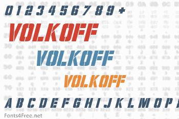 Volkoff Font