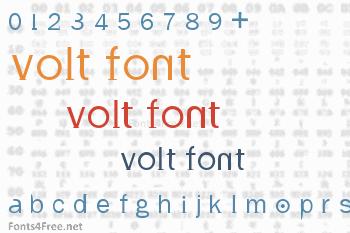 Volt Font