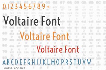 Voltaire Font