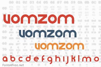 VomZom Font
