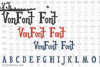 VonFont Font