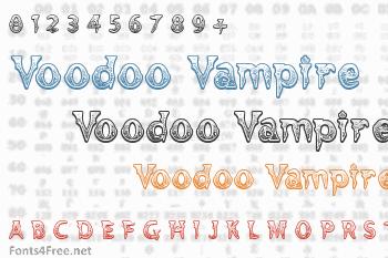Voodoo Vampire Font