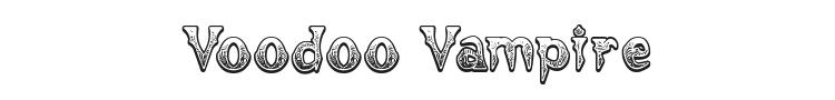Voodoo Vampire Font Preview