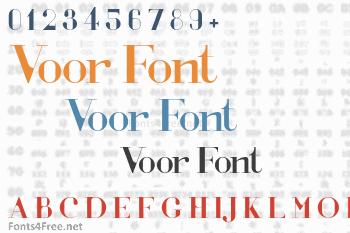 Voor Font