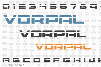 Vorpal Font