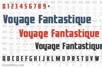 Voyage Fantastique Font