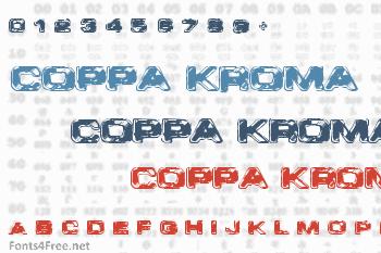 VTC Coppa Kroma Font