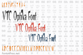 VTC Optika Font