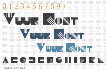 Vuur Font