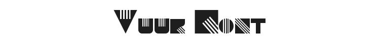 Vuur Font Preview