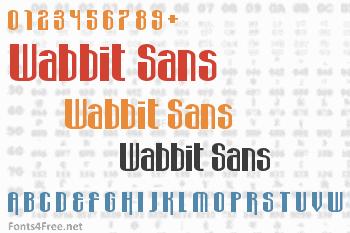 Wabbit Sans Font