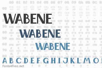 Wabene Font