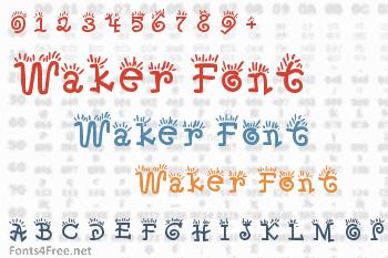 Waker Font