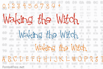 Waking the Witch Font