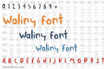 Waliny Font