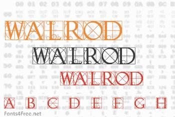 Walrod Font
