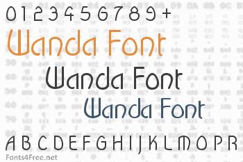 Wanda Font