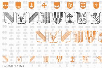Wappen Font