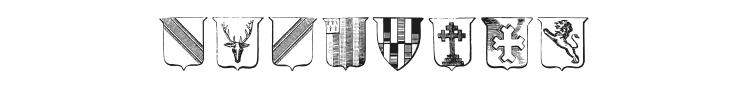 Wappen Font Preview
