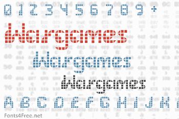 Wargames Font
