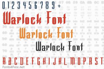 Warlock Font