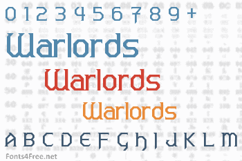 Warlords Font