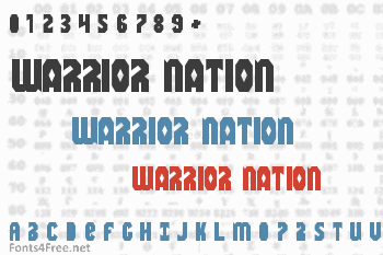 Warrior Nation Font