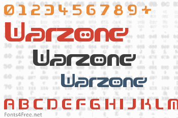 Warzone Font